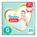 Fralda Pampers Pants Premium Care - G c/30 Unidades