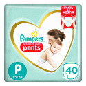 Fralda Pampers Pants Premium Care - P c/40 Unidades