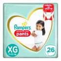 Fralda Pampers Pants Premium Care - XG c/26 Unidades