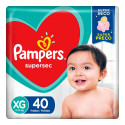 Fralda Pampers Supersec XG c/40 Unidades