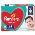 Fralda Pampers Supersec M c/46 Unidades