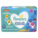 Kit 4x48 Toalhas Umed Pampers Baby Shark Splash (192 unids)