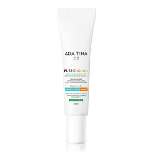 Ada Tina Pure C 40 Ultra Mousse Clareador Anti-idade 30mL