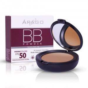 BB Powder Hidracolors Protetor Solar Pó Cor Bronze FPS50 12g