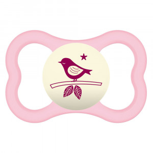 Chupeta MAM Air Night +6 Meses Tam 2 - Rosa Variado - 2834