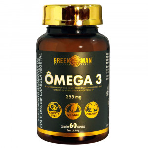 Ômega 3 Green Man 255mg c/60 Cápsulas