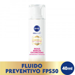 Nivea Cellular Luminous 630 Fluído Facial FPS50 40mL