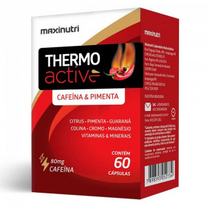 Thermo Active Maxinutri 80mg c/60 Cápsulas