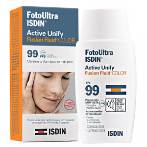 Protetor Solar ISDIN Foto Ultra Active Unify Color FPS99
