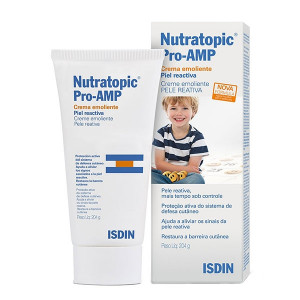 Nutratopic Pro-AMP Creme Corporal Pele Reativa Isdin 204g