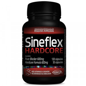 Sineflex Hardcore 600mg Pure Blocker 120Caps/Hardcore 30Caps