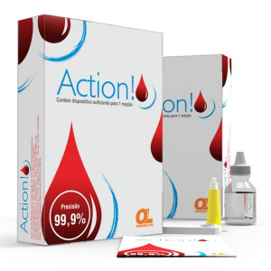 HIV Action Orange Life Teste Em Sangue